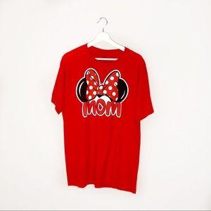 "Disney Minnie Mouse ""Mom"" T-Shirt"